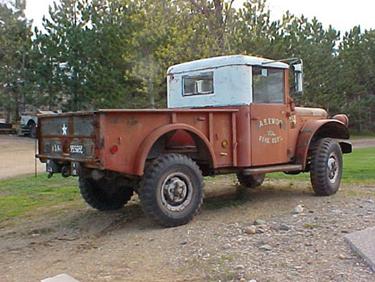 Dodge M37 1953